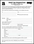 Desk Copy Request Form